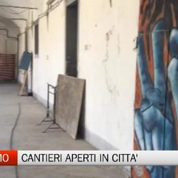 Bergamo- Cantieri aperti in città