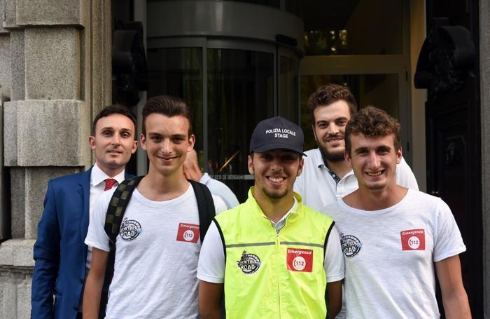 I ragazzi «On the road» con Alessandro Invernici