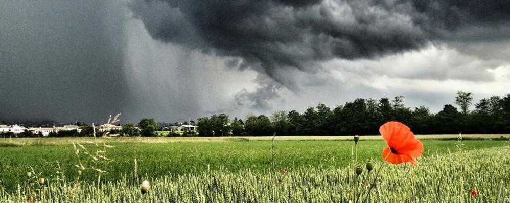 Allarme dalla Regione Lombardia Forti temporali in arrivo domenica