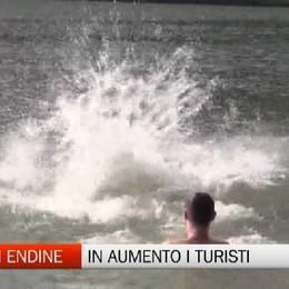 Turismo - Crescono le presenze sul lago di Endine