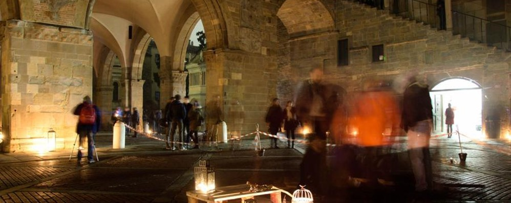 «Effetto Notte» in Città Alta Ecco le tre fotografie vincitrici