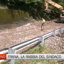 Frana in Alta Val Seriana, la rabbia del sindaco di Gandellino