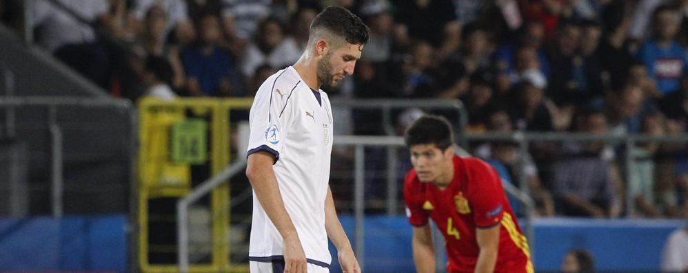 Azzurrini, tramonta il sogno «finale»  Europei Under 21, Spagna- Italia 3-1