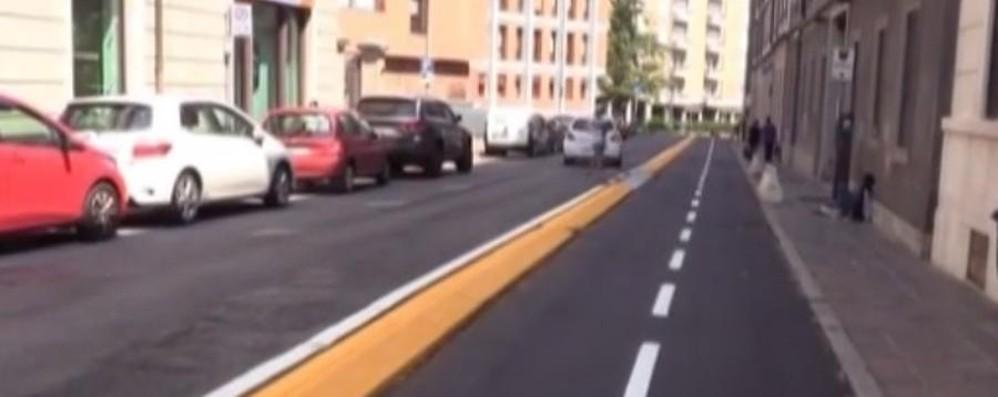 Ecco la nuova pista ciclabile Dalla stazione al centro - Video