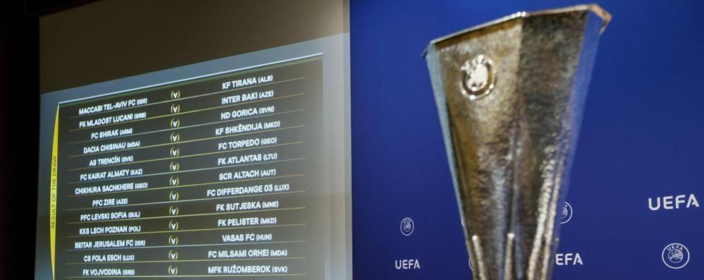 Fischio d'inizio, ecco l'Europa league L'Atalanta inizia a studiare gli avversari