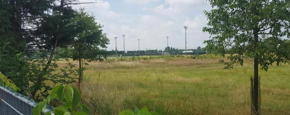 L'Atalanta si allarga a Verdellino Due nuovi campi da calcio con tribune