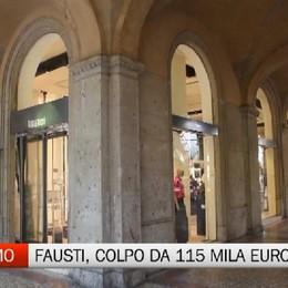 Tiziana Fausti, bottino da 115 mila euro