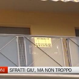 Emergenza abitativa: a Bergamo sfratti giù (ma non troppo)