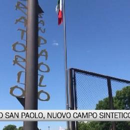 Oratorio San Paolo e Costa di Mezzate: nuovi campi in sintetico