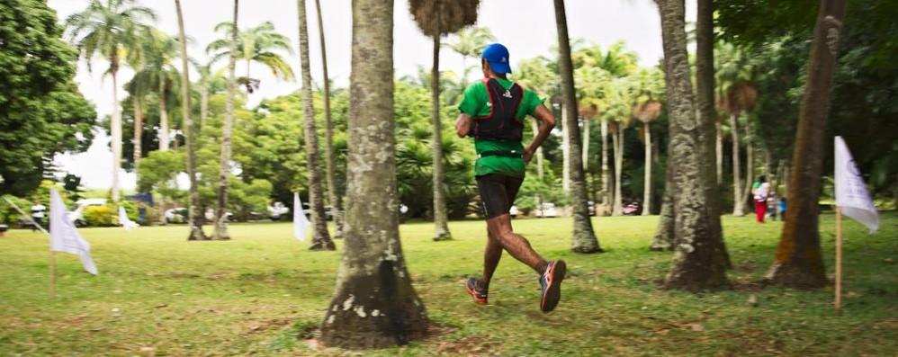 Bosatelli corre a Mauritus - Video C'è l'Ultra Trail Beachcomber