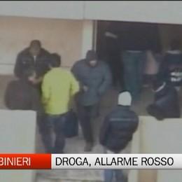 Carabinieri - Allarme droga in Bergamasca