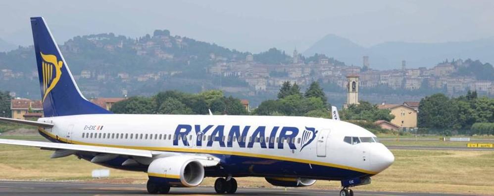 Aerei, crescono i passeggeri: +4,8% Il primato a Ryanair, Orio terzo scalo