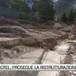 Grand Hotel, prosegue la ristrutturazione