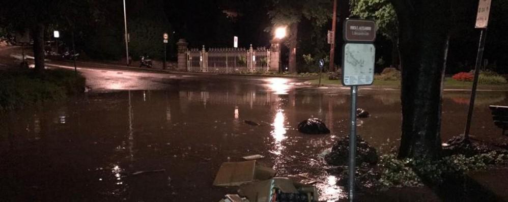 «Piove, Colle Aperto come un lago A quando una soluzione?» - Video