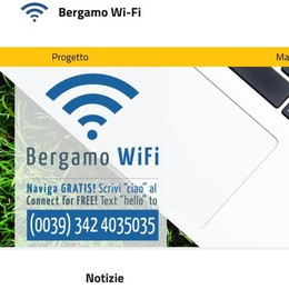 Bergamo Wifi compie due anni e si regala un sito nuovo di zecca