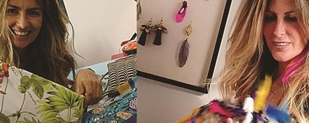 Dal Brasile la loro moda a Bergamo  Borse, orecchini e tanti colore
