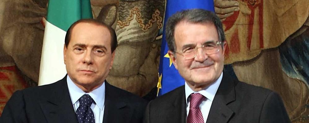 «Rieccoli» 2.0 Silvio e Romano