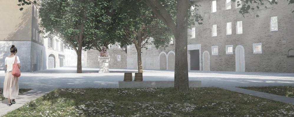 Si apre il cantiere di piazza Carrara I lavori dureranno cinque mesi - Foto