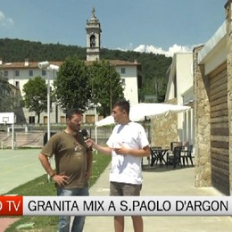 Bergamotv - Oggi Granita Mix a San Paolo d'Argon