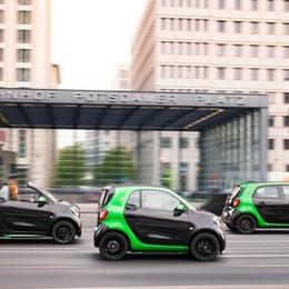 Smart Fortwo Cabrio è anche elettrica