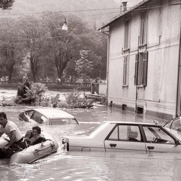 Trent'anni dalla tragica alluvione dell'87  La Valle Brembana ricorda - Foto e Video