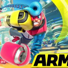 Arms, gioco soprendente braccia allungabili su Switch