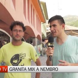 Bergamo TV, con Granita Mix all'oratorio di Nembro