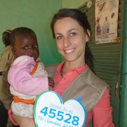 In Mali aiuta i bimbi denutriti  Miriam è l'unica europea a Ségou