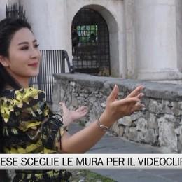 Star cinese sceglie le mura per il suo videoclip
