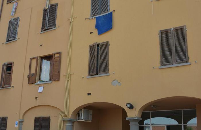 La casa dove si è consumato il tentato omicidio a Ghisalba