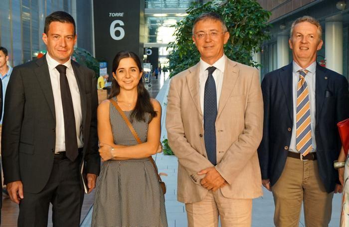 Da sinistra: Luca Patelli, Monica Sonzogni, Carlo Nicora e Roberto Dodesini
