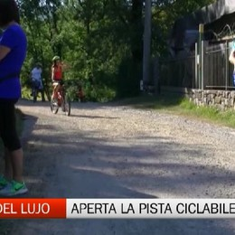Albino, inaugurata la pista ciclopedonale della Valle del Lujo