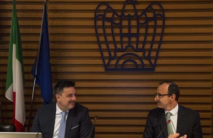 Paolo Piantoni e (a destra) Stefano Scaglia