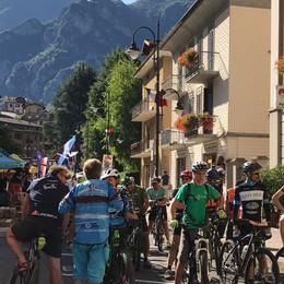 Inaugurazione bike fest piazza brembana