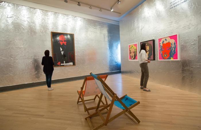mostra Andy Warhol alla Gamec