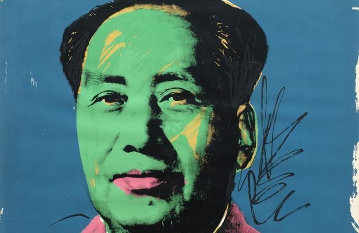 quadro di Mao di Andy Warhol