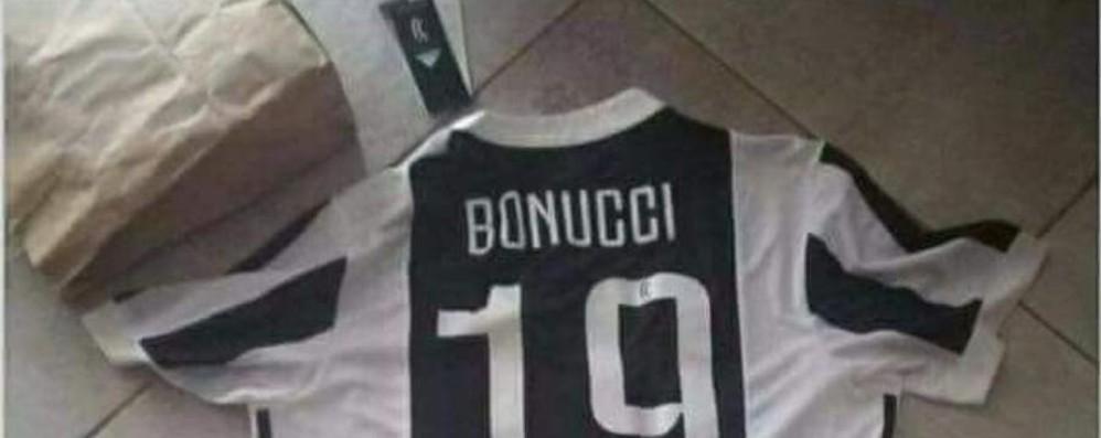 Bonucci al Milan e la beffa della maglia Codacons chiede che si possa cambiare