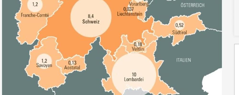 L'ultima idea degli svizzeri Prendersi la Lombardia