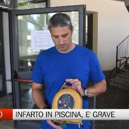 Alzano, 51enne colto da infarto al bar delle piscine
