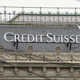 Credi Suisse, 10mila conti «italiani» La Finanza chiede i nomi dei clienti