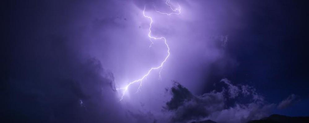 Meteo, attenzione ai temporali Allerta anche in Bergamasca