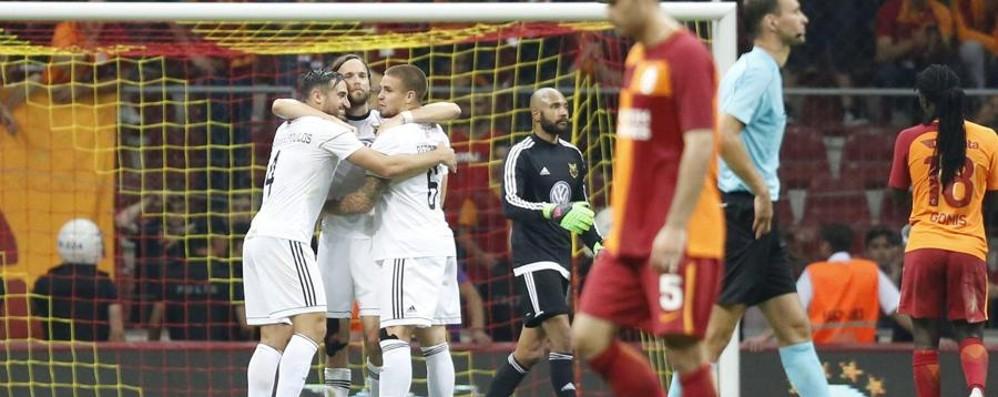 Europa, altra eliminata eccellente L'Atalanta evita anche il Galatasaray