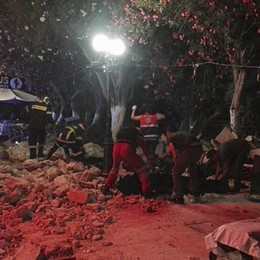 Terremoto sull'isola di Kos, in Grecia Due turisti morti, 200 feriti - Video