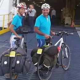Due cuori e due biciclette La luna di miele di Miry e Marco