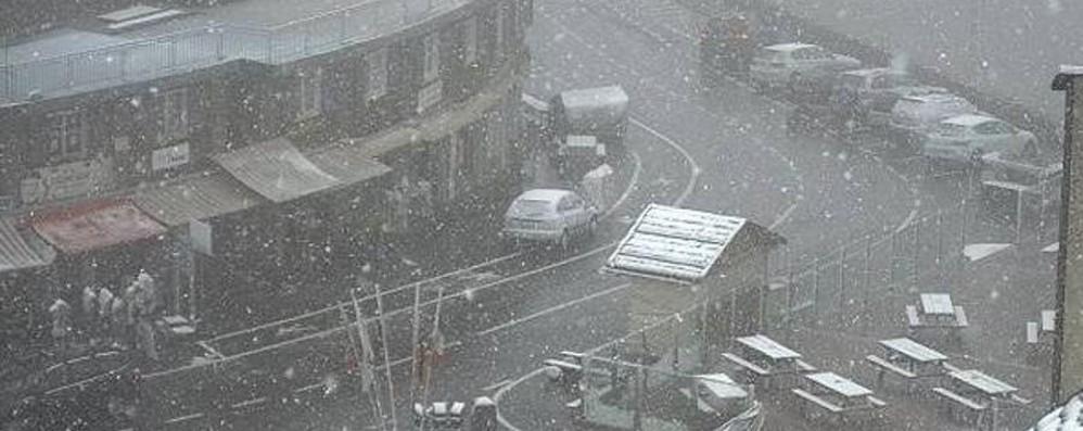 Meteo, neve allo Stelvio - Foto Ma da noi il maltempo è già passato