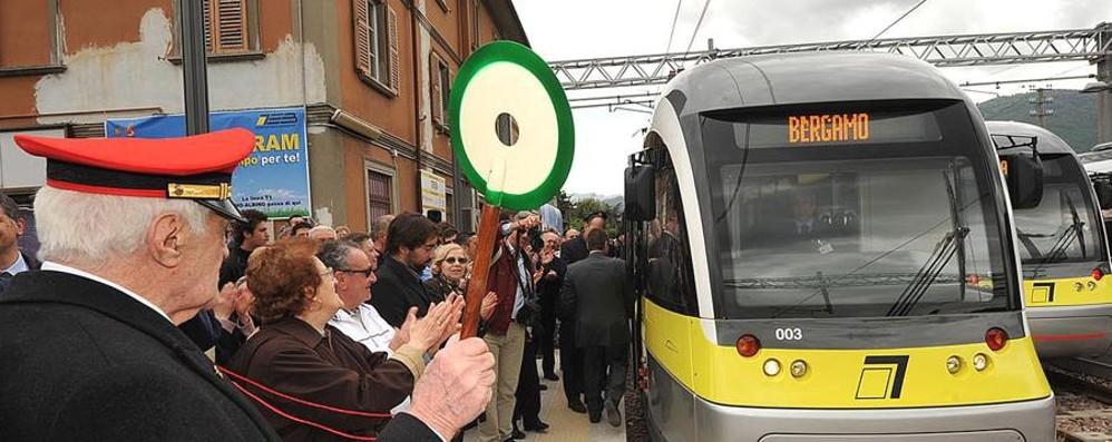 Tram in V. Brembana Piano, ma lontano
