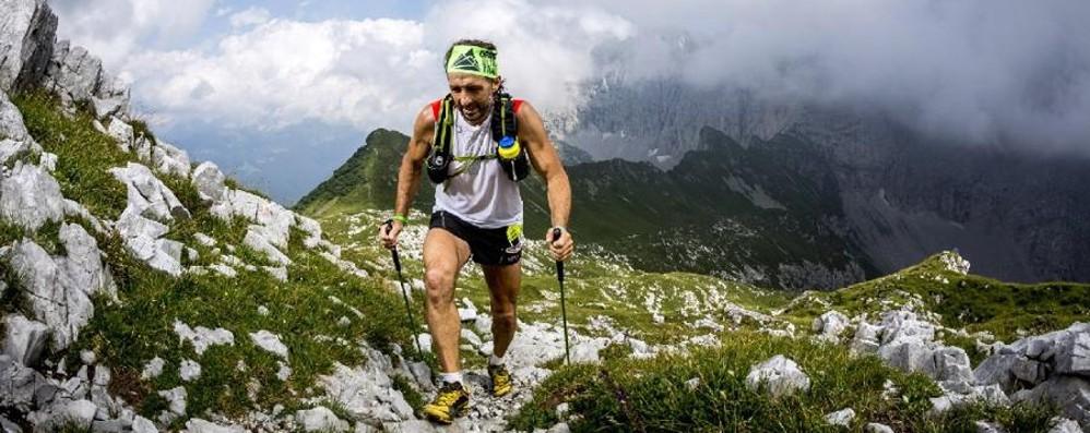 Partita da Clusone la Orobie Ultra Trail Su e giù per le valli per 140 chilometri