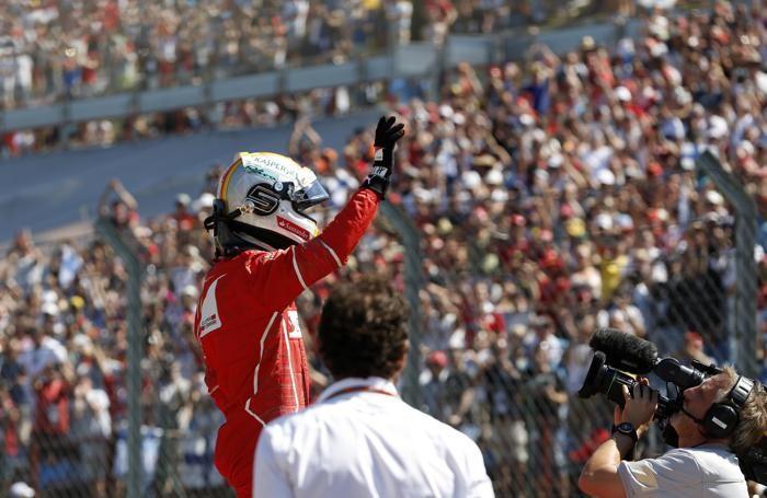 Ferrari driver Sebastian Vettel