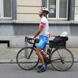 Da Bergamo Gabbo, amatore dei record Corre in solitaria prima Giro e poi Tour