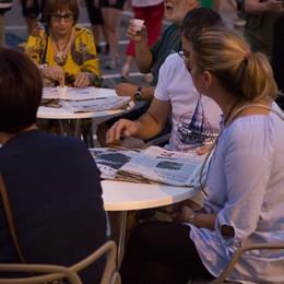 Foto serata con tributo max pezzali, street art e Eco Cafè